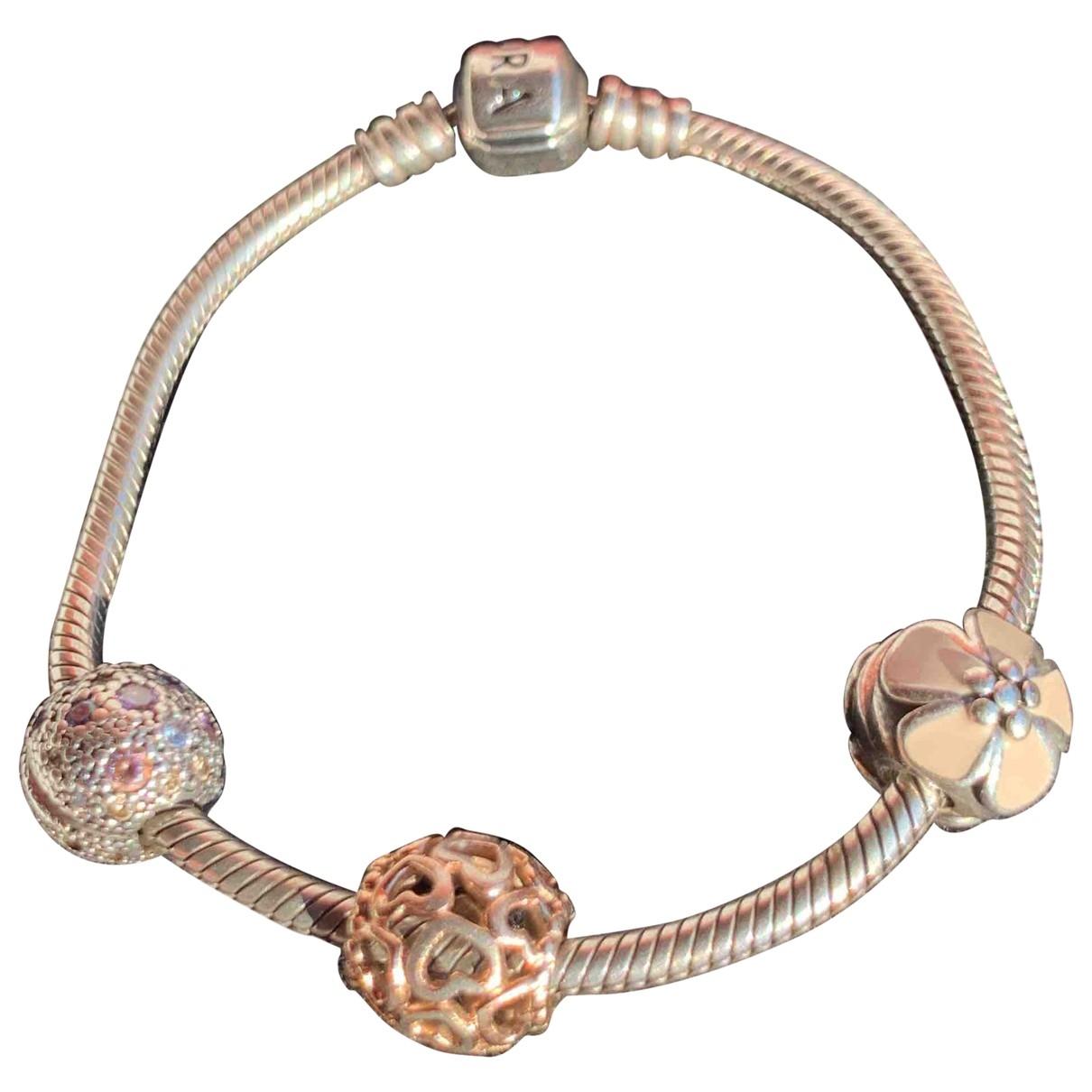 Pandora - Bracelet   pour femme en argent - gris