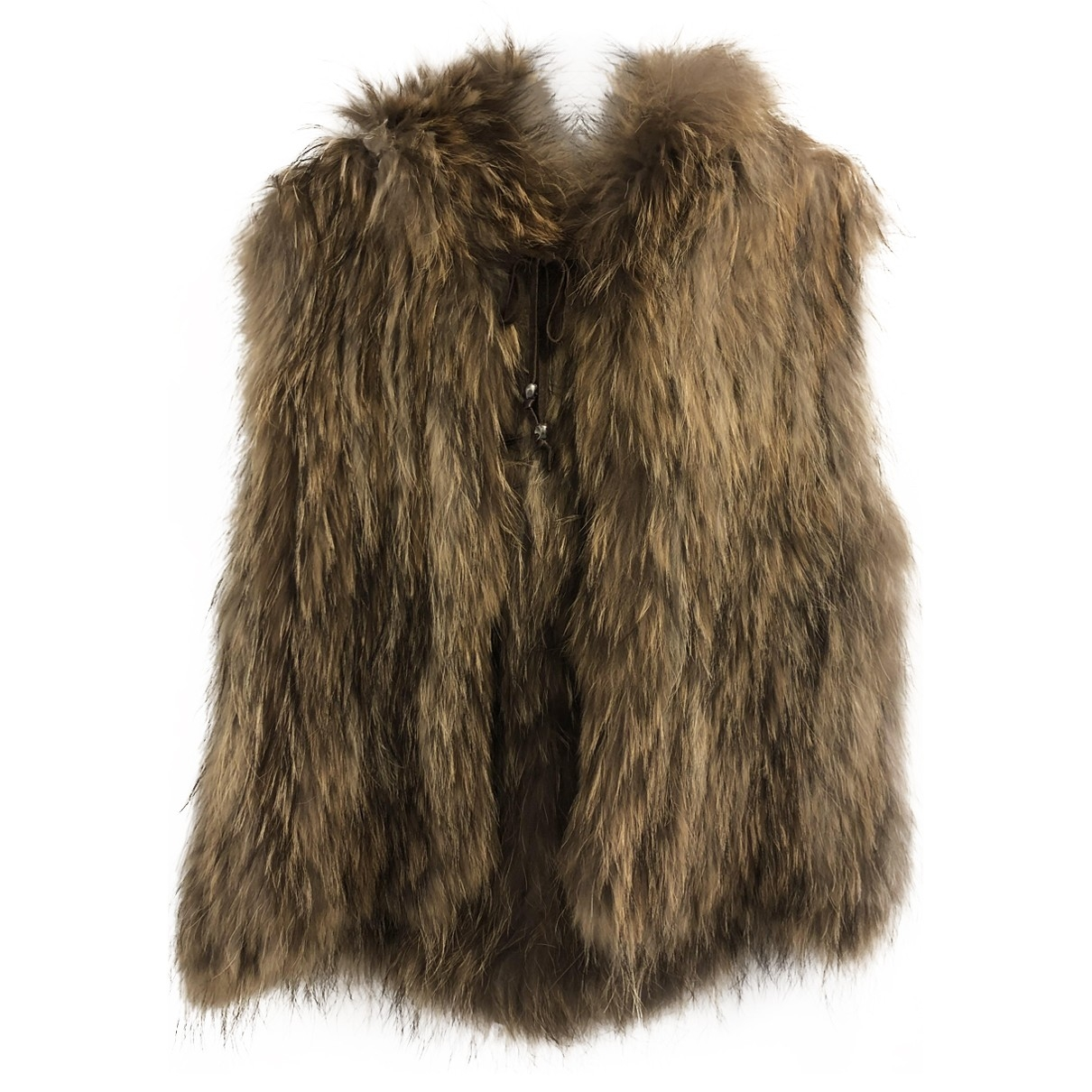 Zadig & Voltaire \N Brown Raccoon coat for Women S International