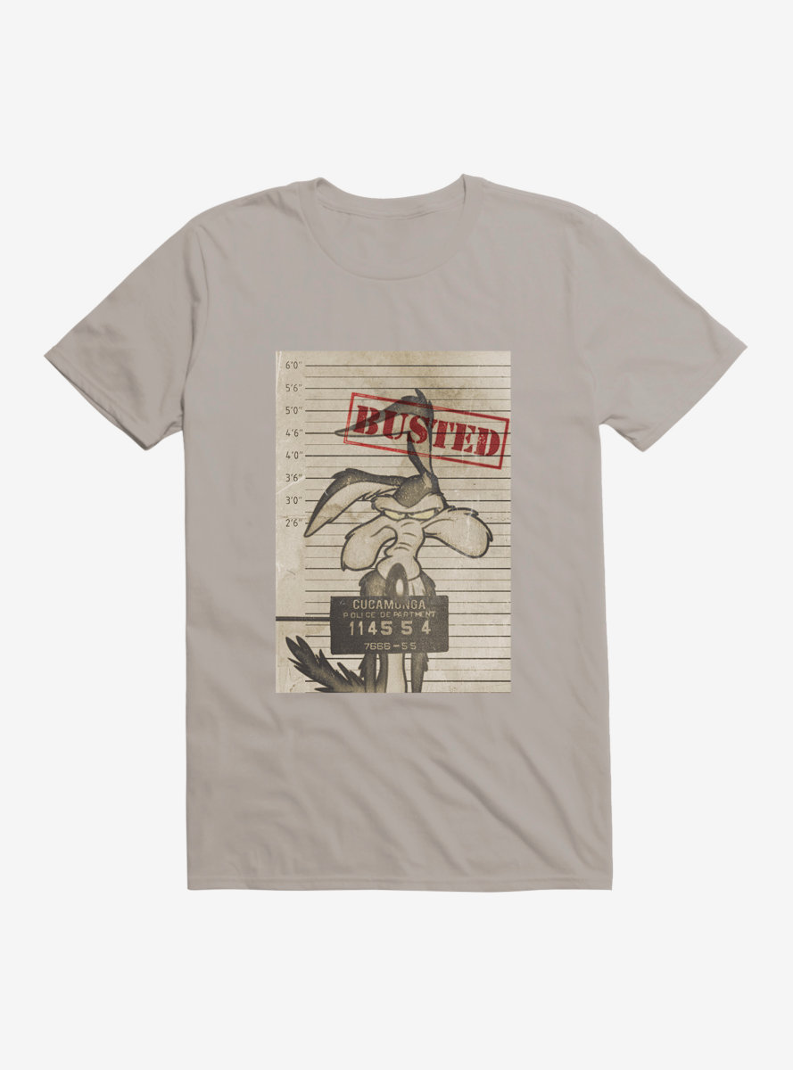 Looney Tunes Wile. E. Coyote Busted T-Shirt