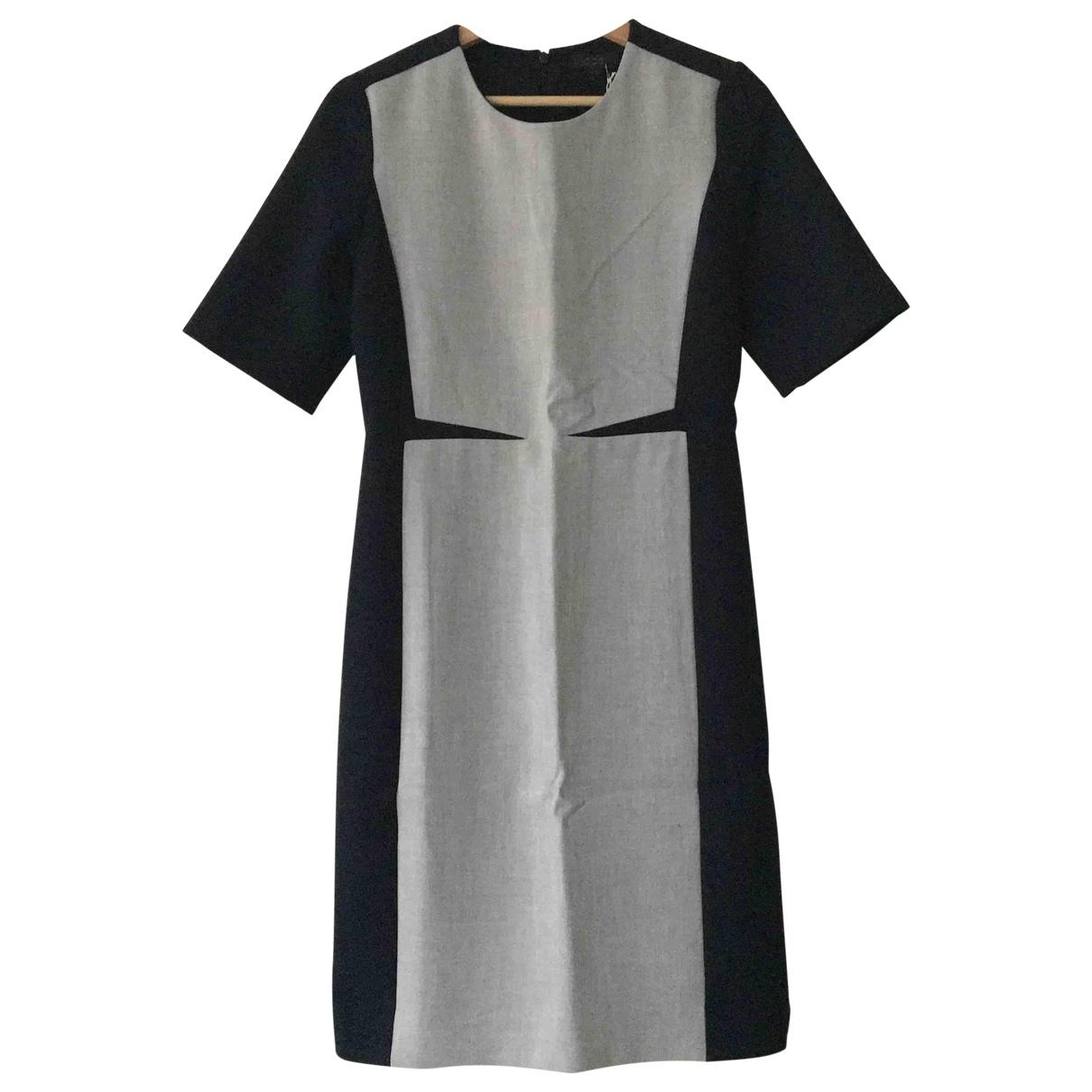 Cos \N Blue Cotton dress for Women 38 FR