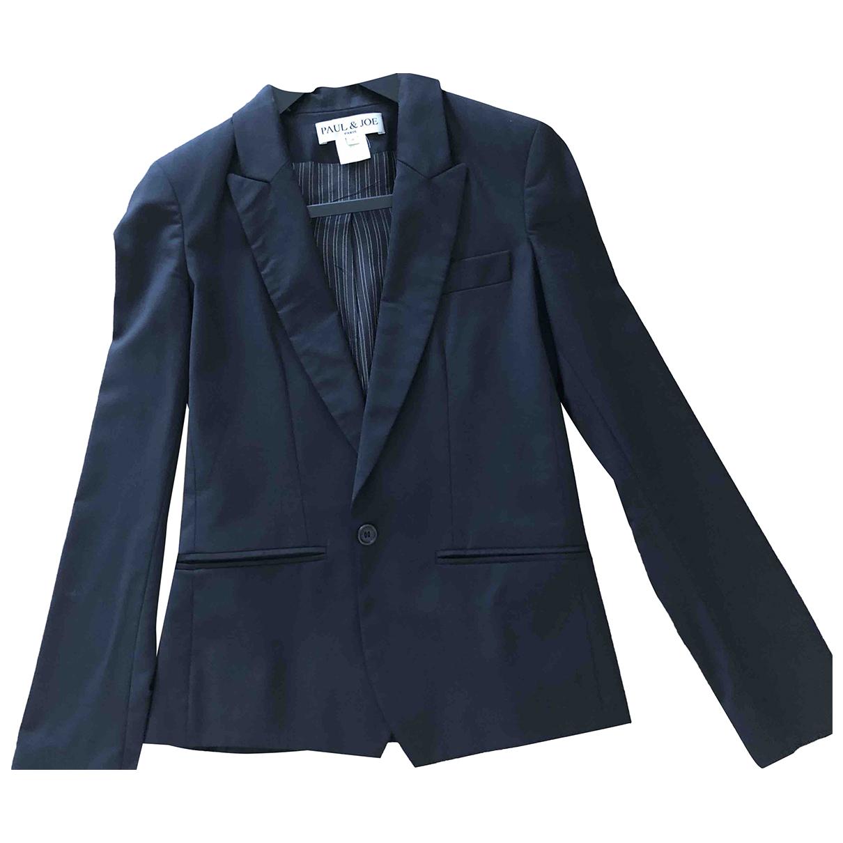 Paul & Joe \N Black Wool jacket for Women 40 FR