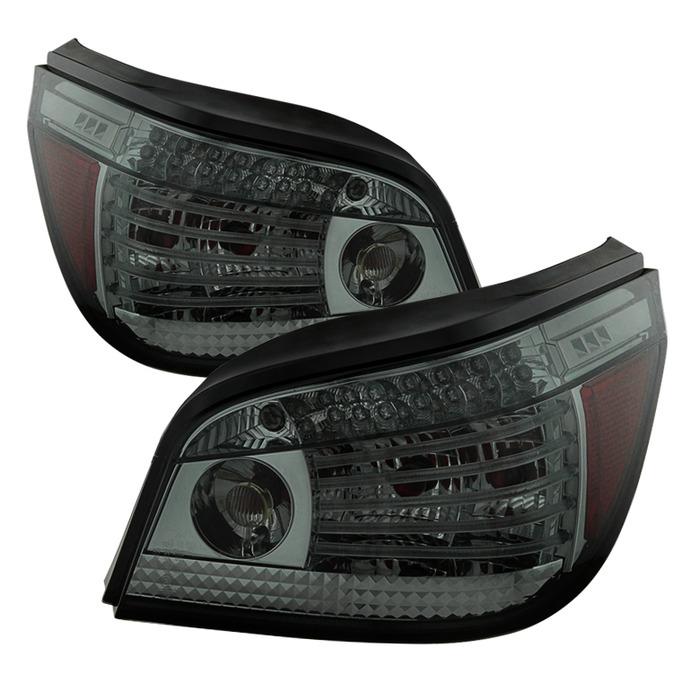 Spyder Auto ALT-YD-BE6008-LED-SM Smoke LED Taillights BMW E60 550i 08-10