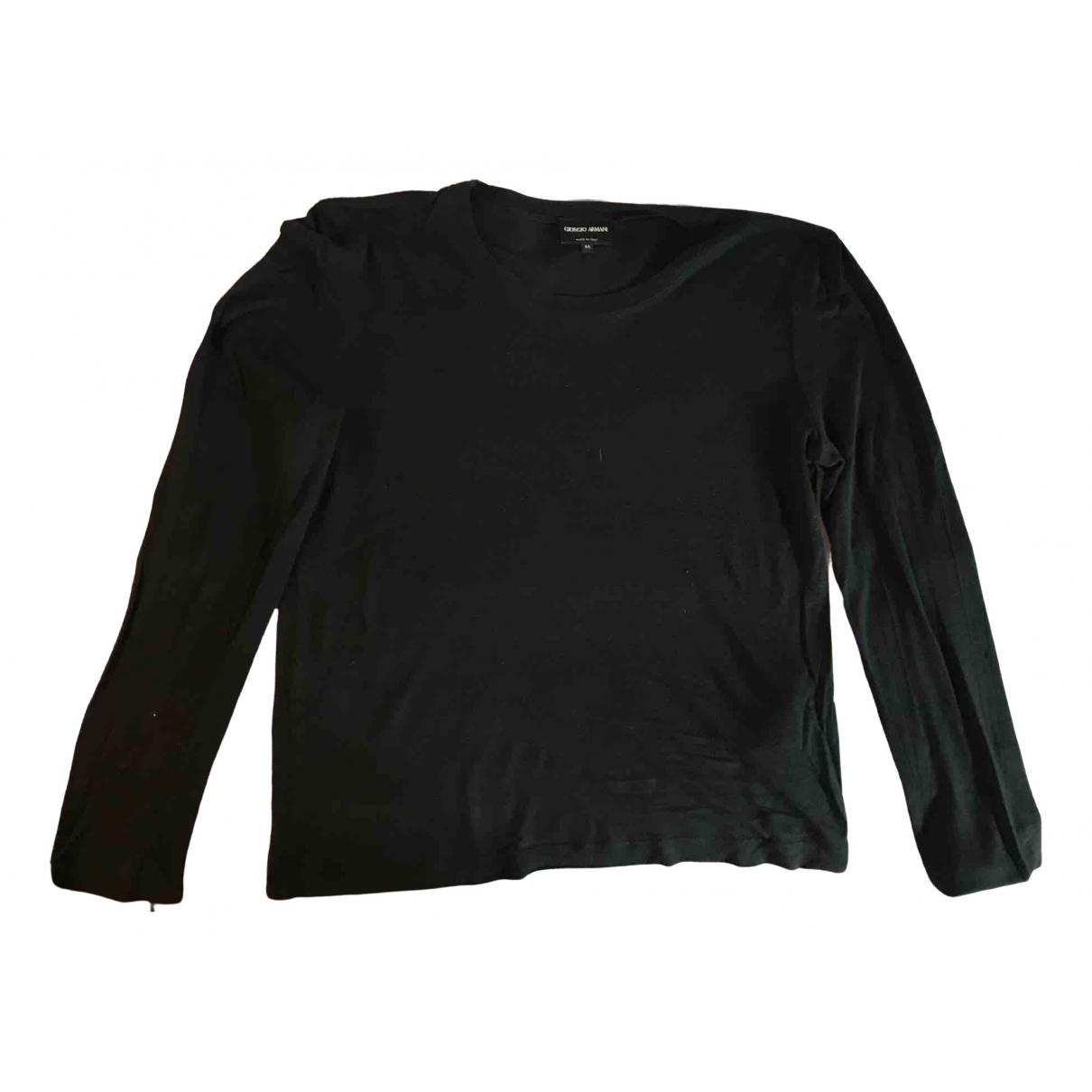 Giorgio Armani - Top   pour femme en coton - noir