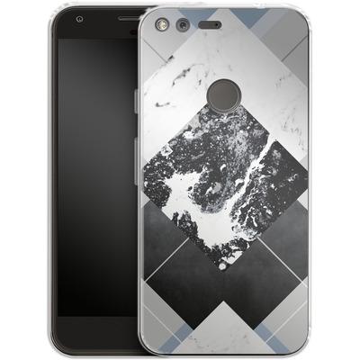 Google Pixel XL Silikon Handyhuelle - Geometric Textures 5 von Mareike Bohmer