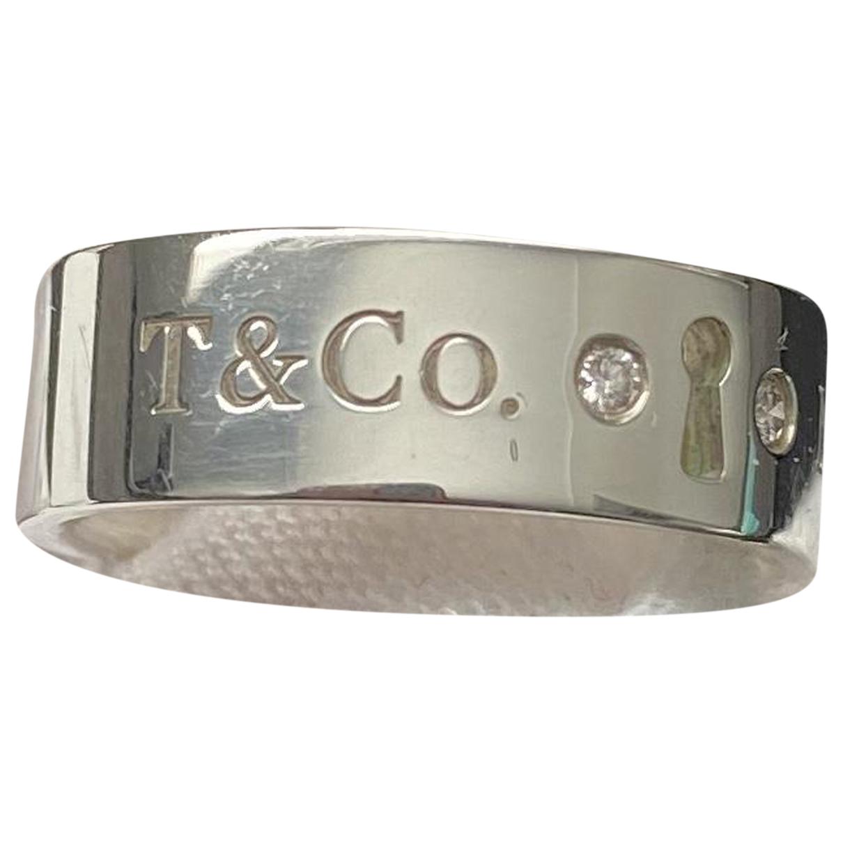 Tiffany & Co Return to Tiffany Silver Silver ring for Women 51 MM