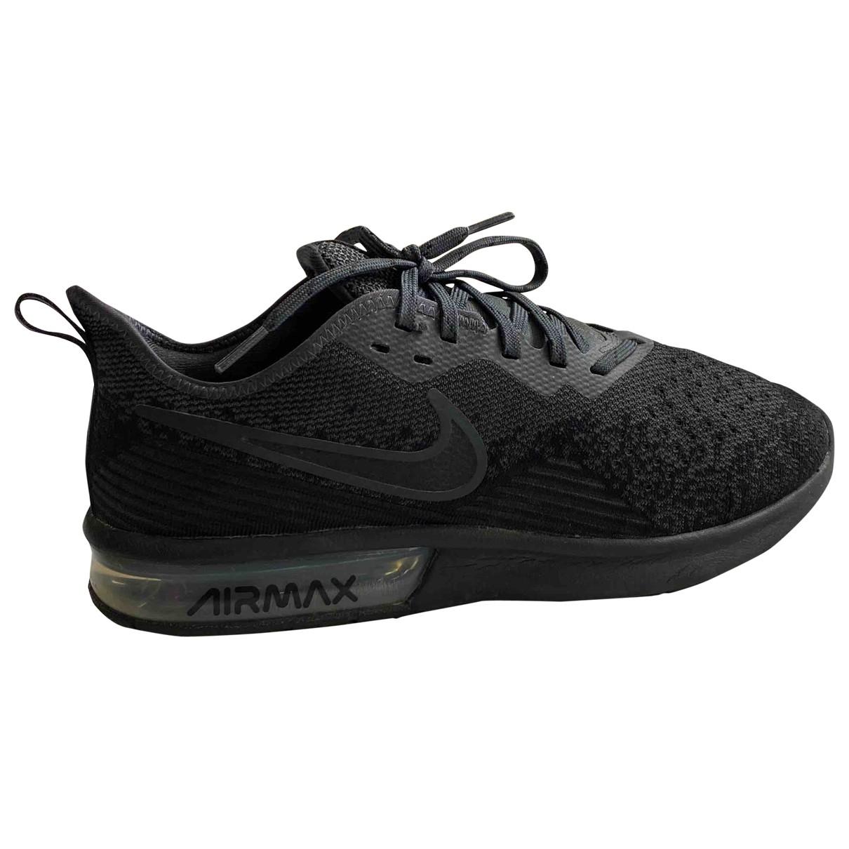 Nike - Baskets Air Max  pour homme en toile