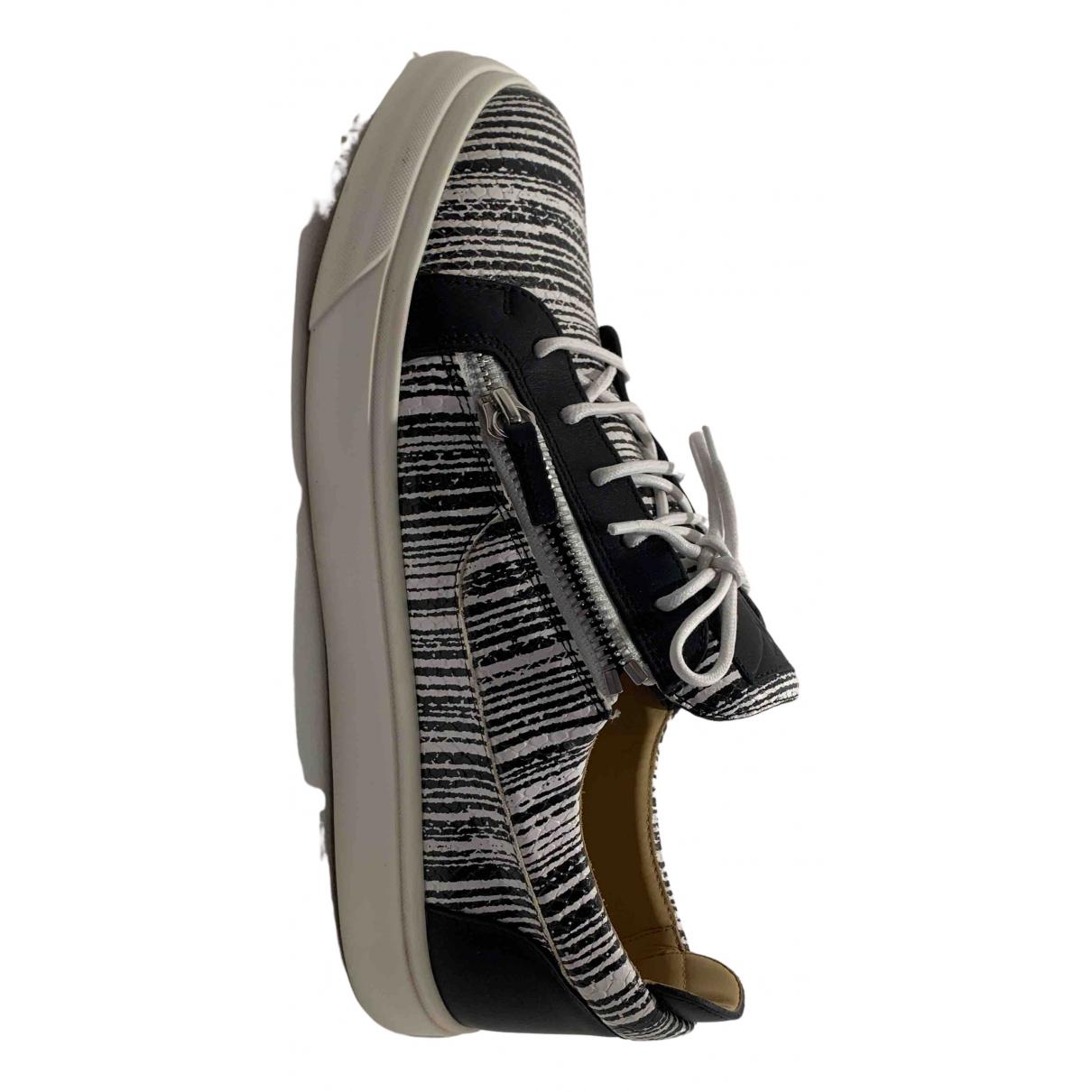 Giuseppe Zanotti \N Sneakers in  Schwarz Python