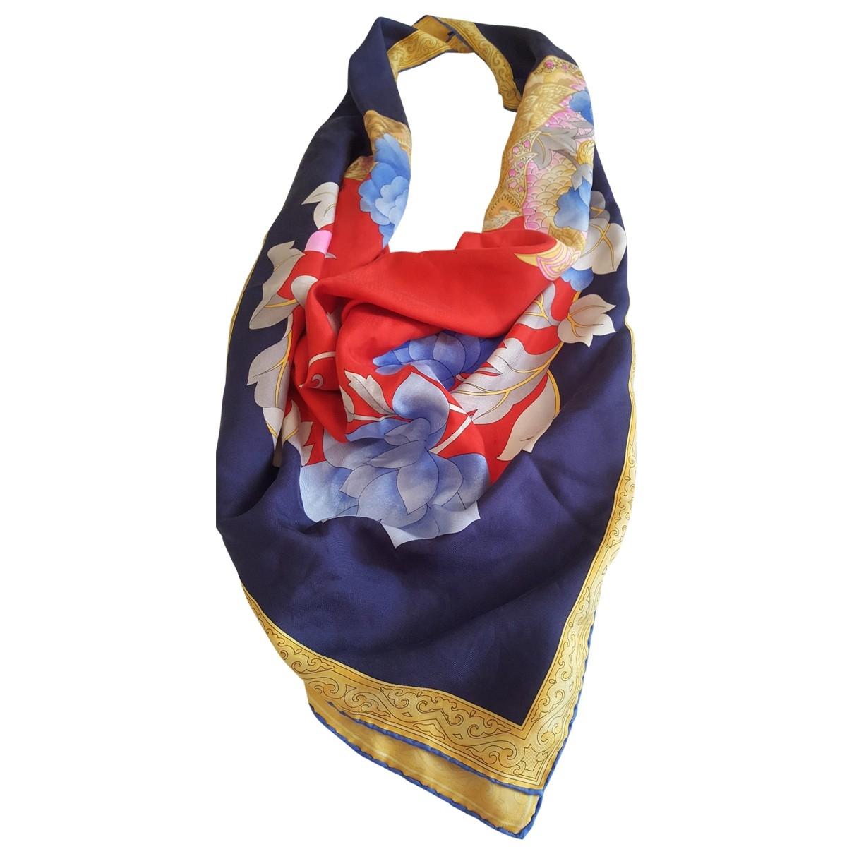 Leonard - Foulard   pour femme en soie - multicolore