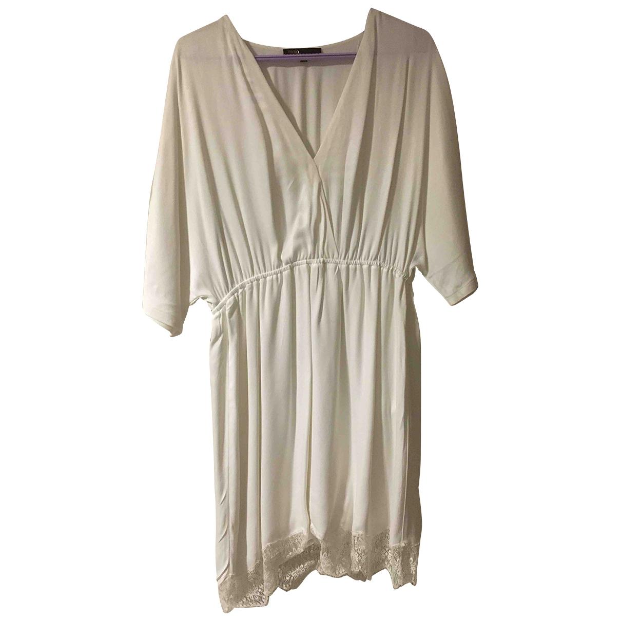 Maje - Robe   pour femme - blanc