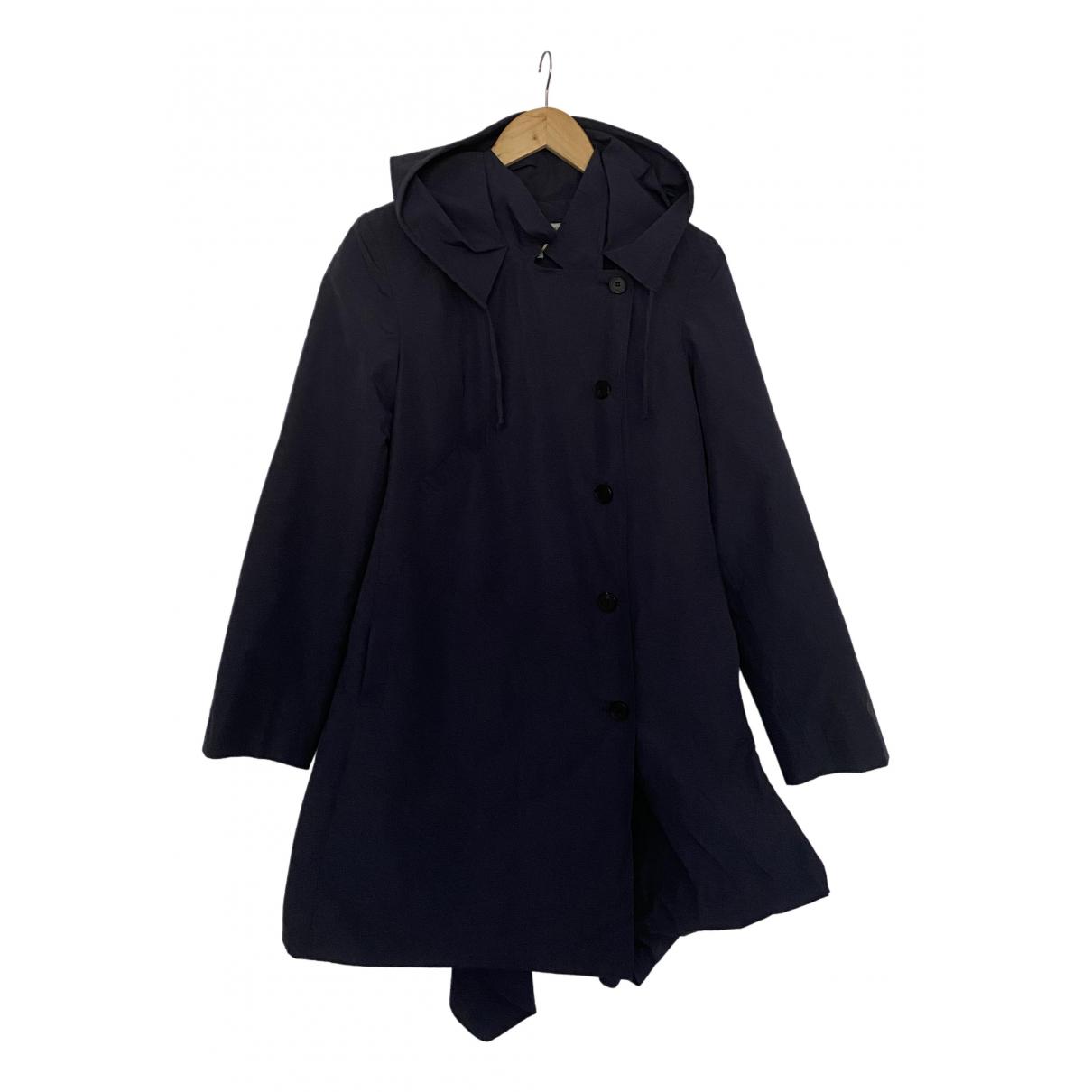 Morgane Le Fay - Manteau   pour femme en coton - bleu