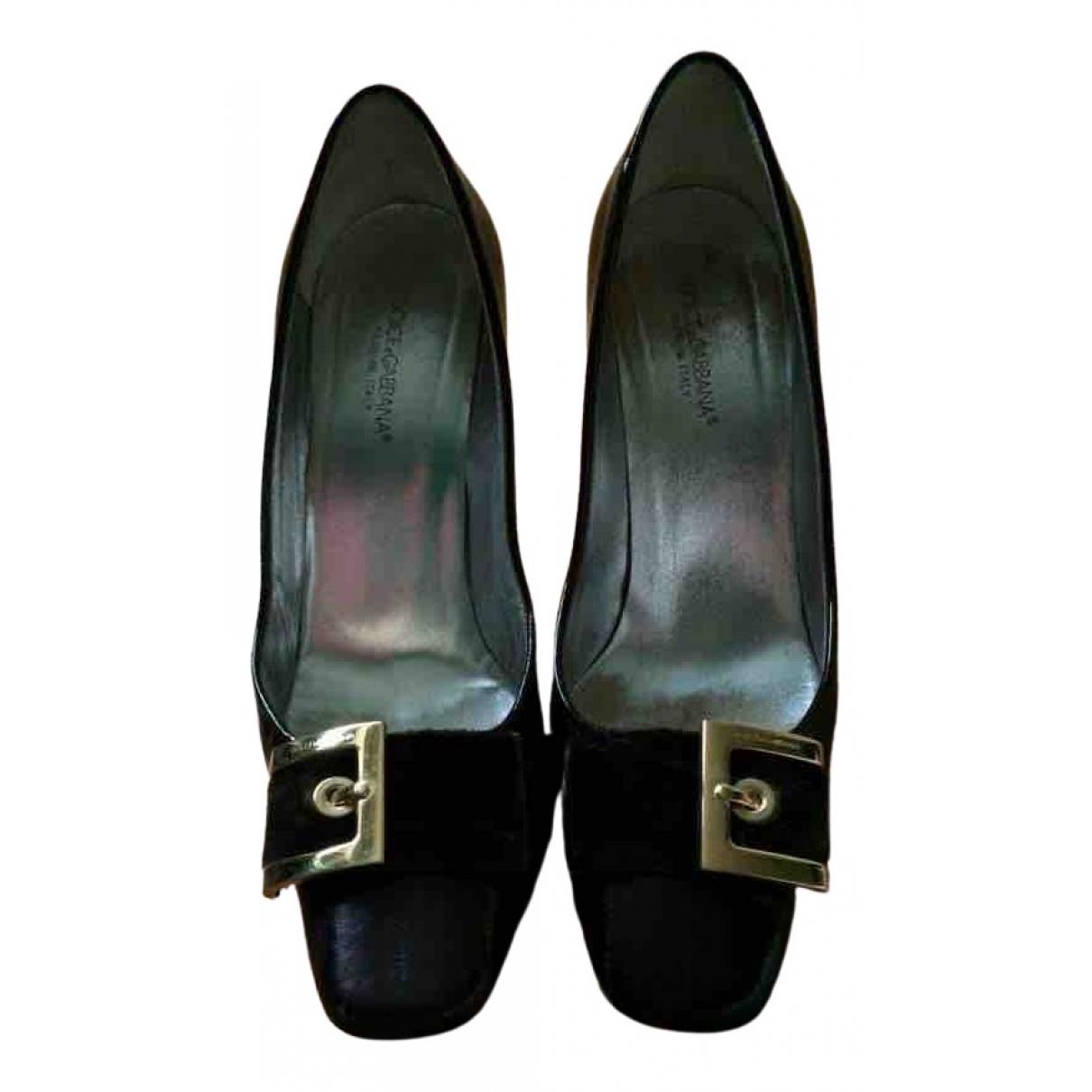 Dolce & Gabbana \N Brown Leather Heels for Women 38.5 EU