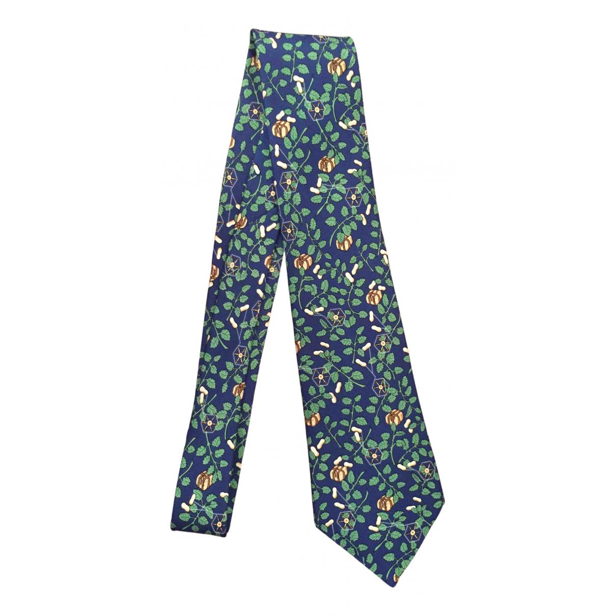 Hermès N Multicolour Silk Ties for Men N