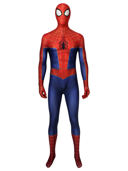 Milanoo Marvel Comics Spider Man Marvel Comics Cosplay Costume Catsuit