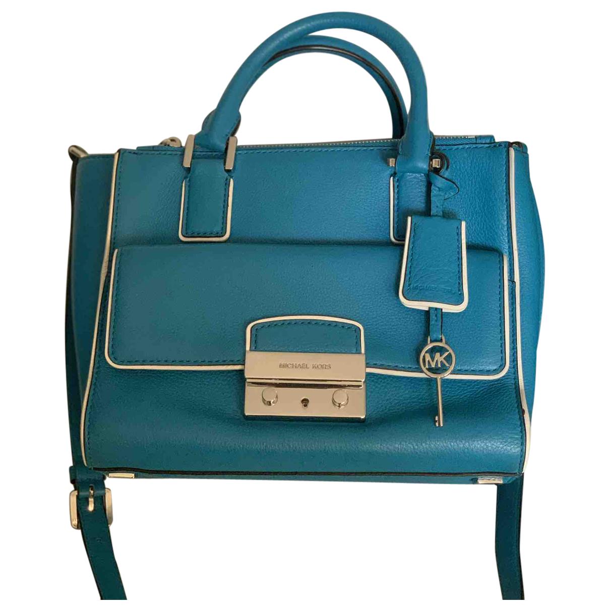 Michael Kors N Blue Leather handbag for Women N