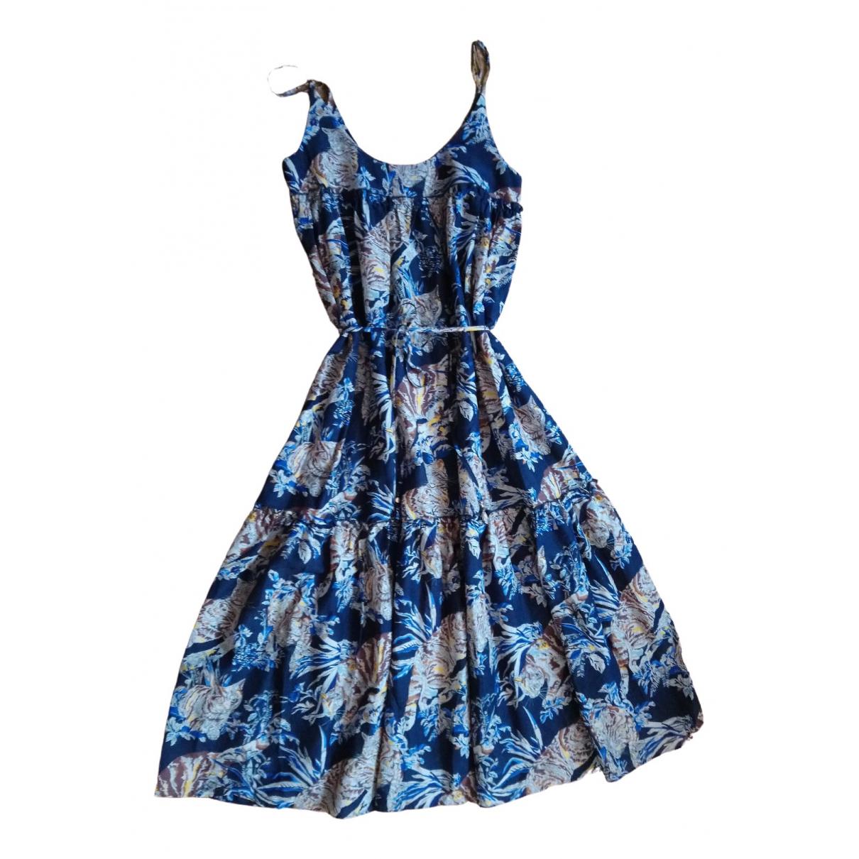 Stella Mccartney \N Kleid in  Blau Baumwolle