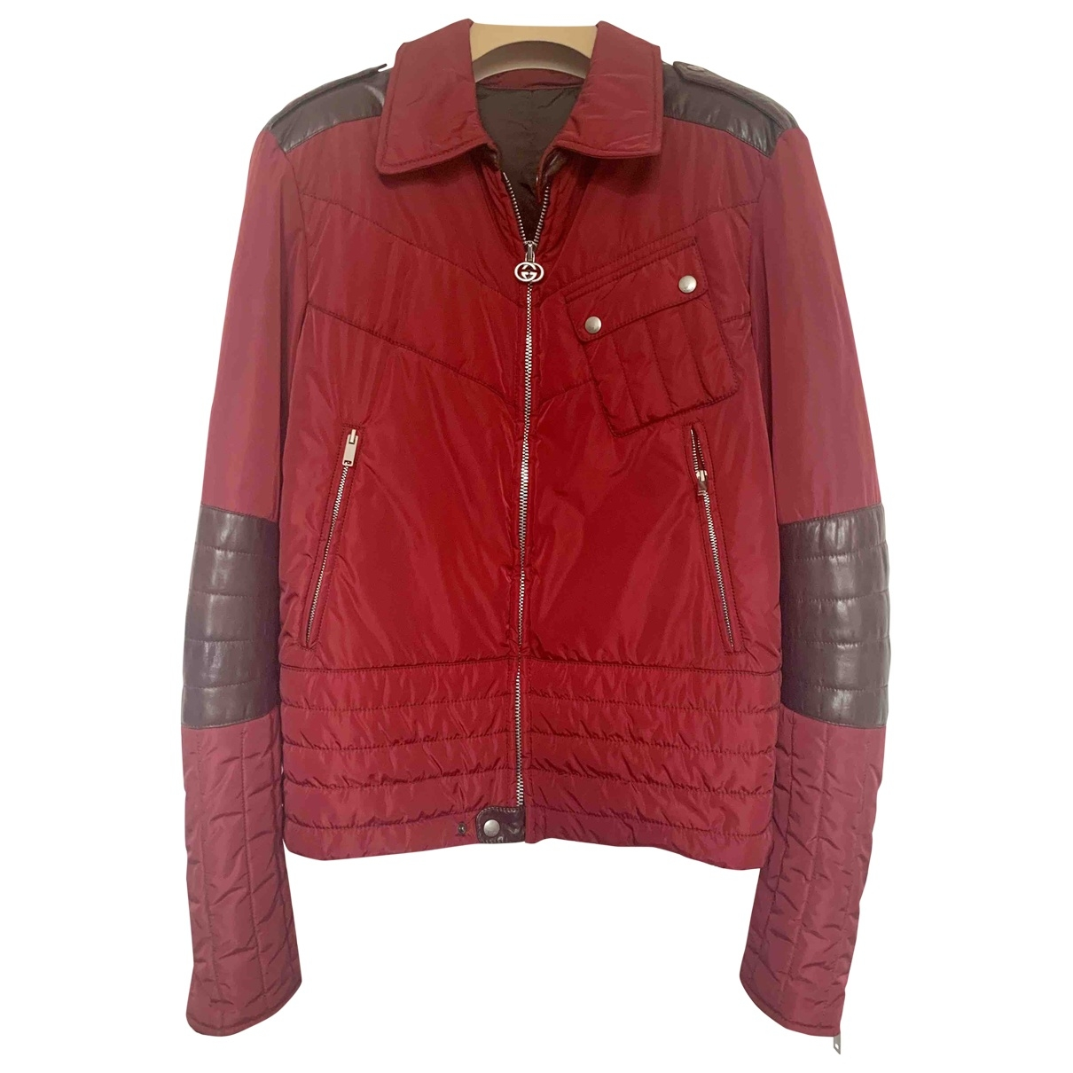 Gucci \N Red jacket  for Men 50 IT