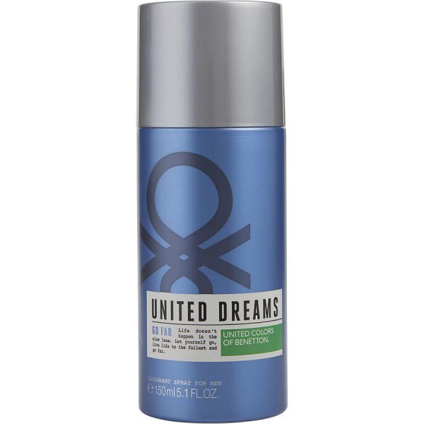 United Dreams Go Far - Benetton desodorante en espray 150 ml