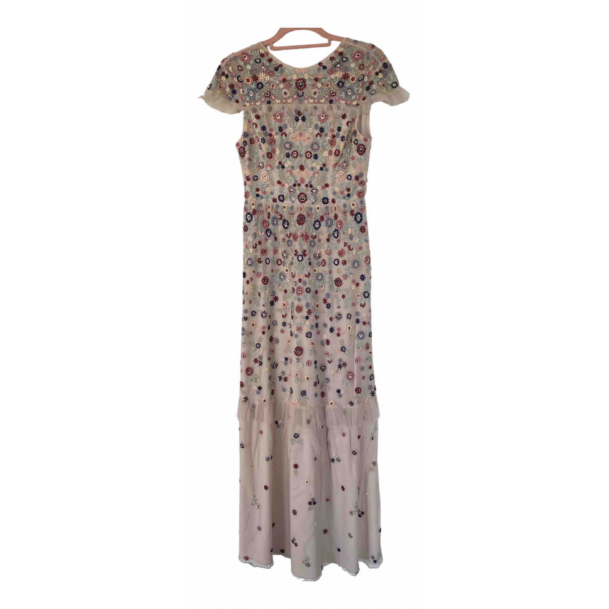 Needle & Thread \N Kleid in  Rosa Polyester