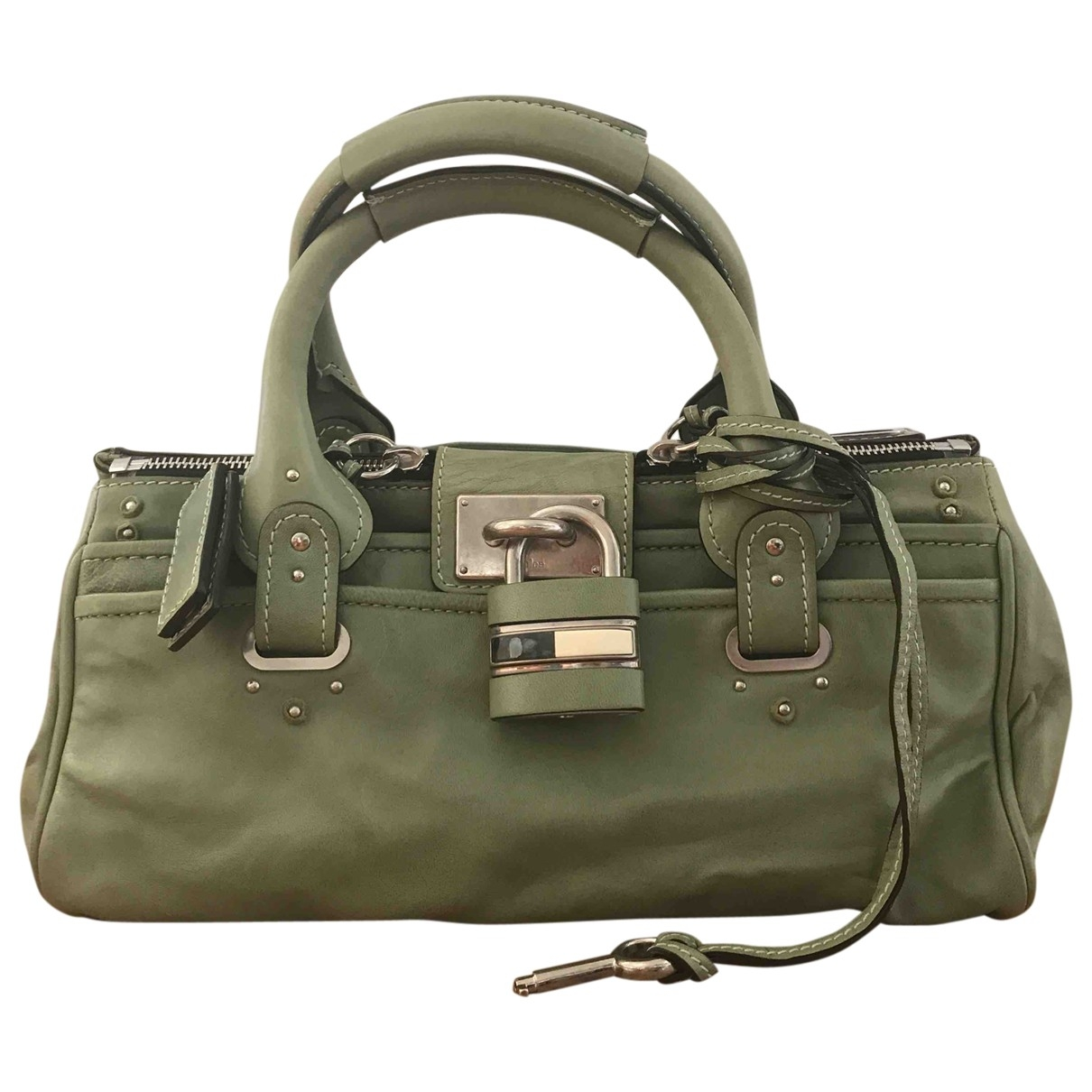 Chloé Paddington Green Leather handbag for Women \N