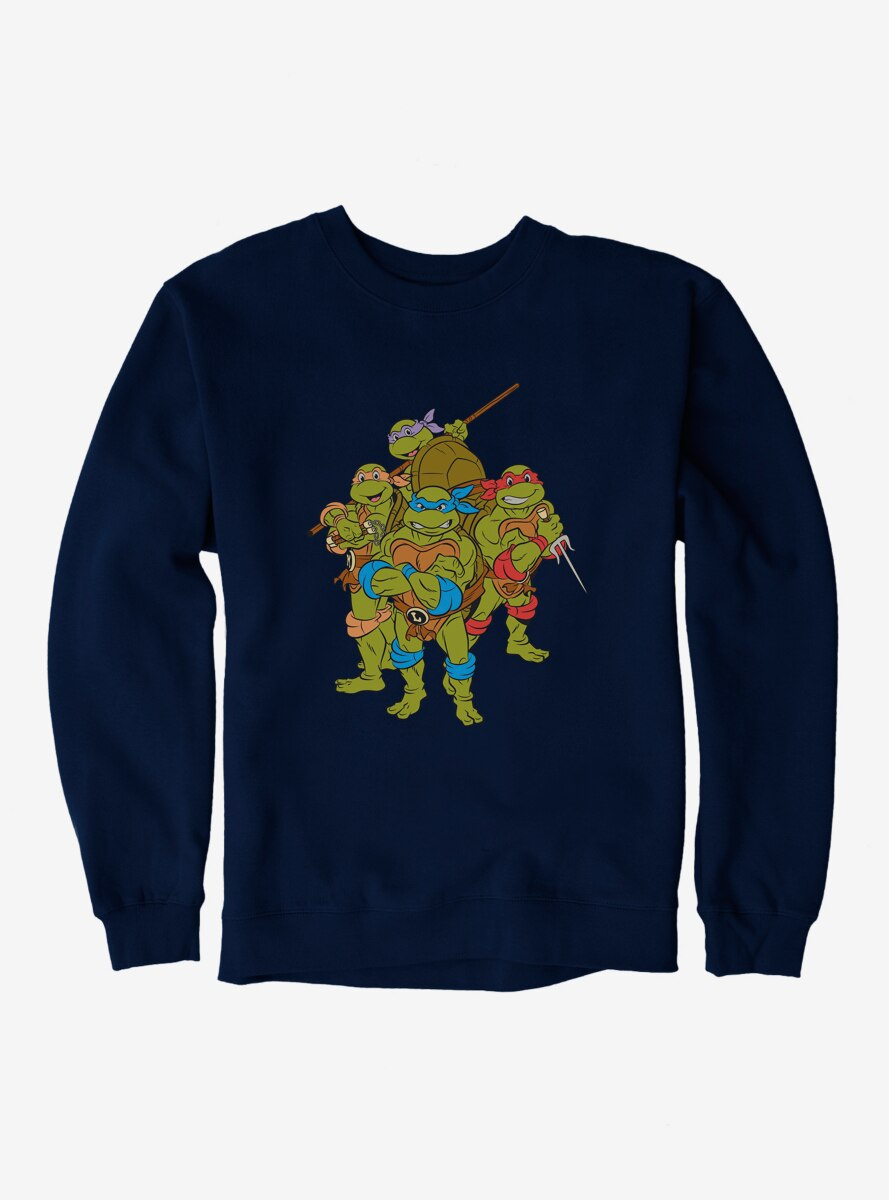 Teenage Mutant Ninja Turtles Group Pose Sweatshirt