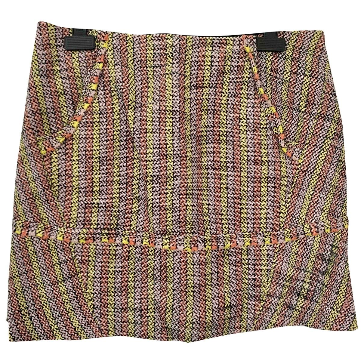 Maje - Jupe   pour femme en coton - multicolore