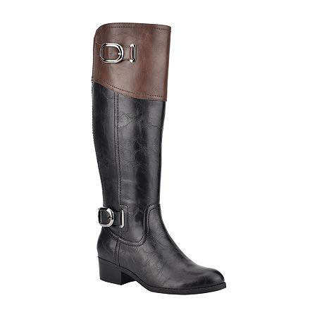 Unisa Womens Tifza Riding Boots Block Heel, 8 Medium, Multiple Colors