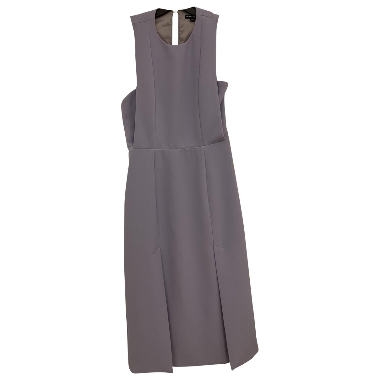 Whistles \N Kleid in  Lila Baumwolle