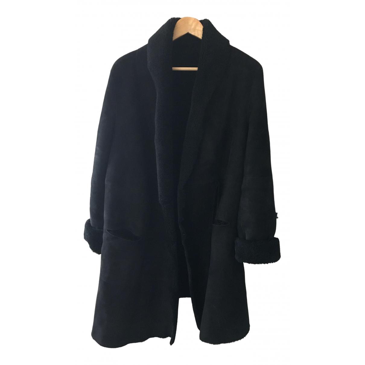 Swildens \N Black Suede coat for Women 40 FR