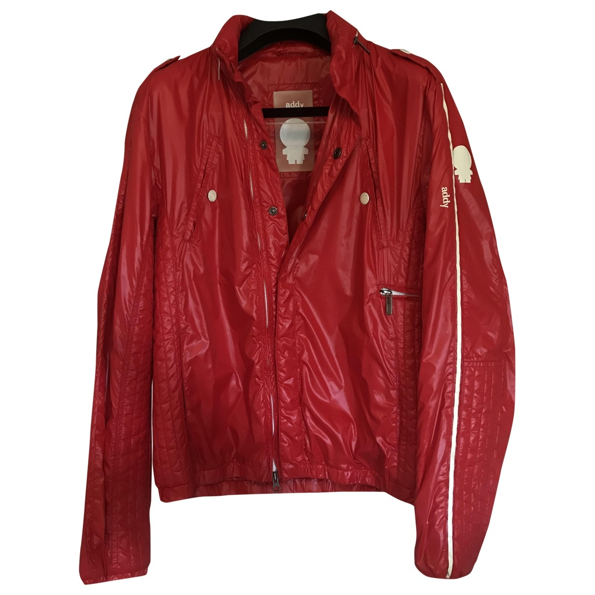 Non Signé / Unsigned \N Red jacket  for Men 48 IT