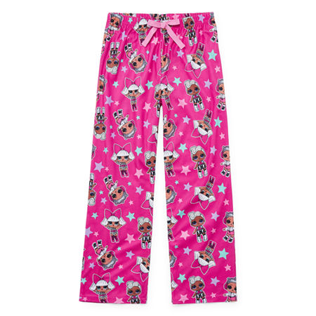 Little Girls Microfleece LOL Pajama Pants, 4 , Multiple Colors