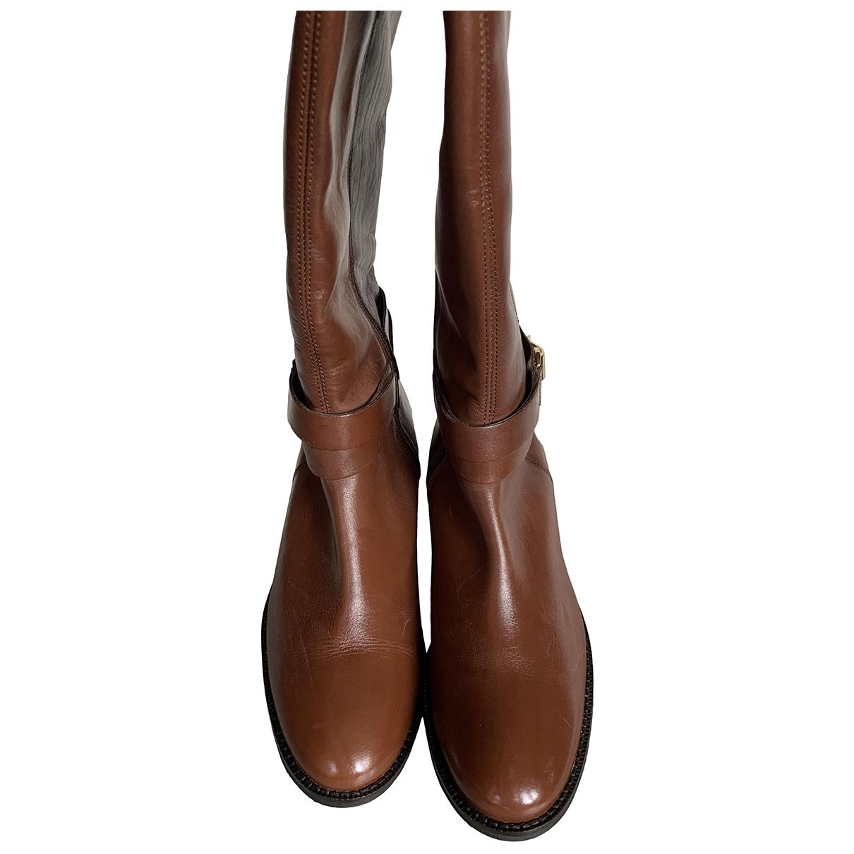 Kurt Geiger \N Leather Boots for Women 39 EU