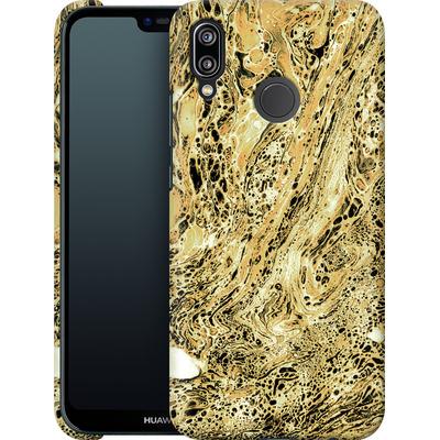 Huawei P20 Lite Smartphone Huelle - Marbled Sand von Amy Sia