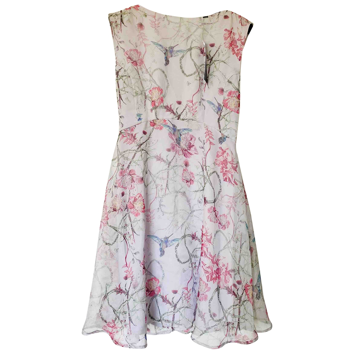 French Connection \N Grey Silk dress for Women 14 UK