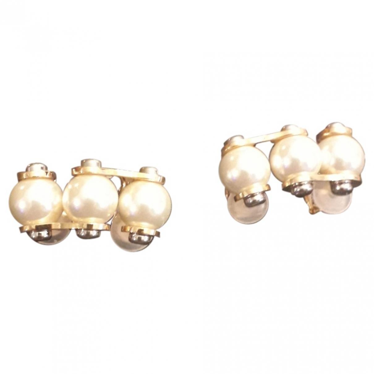 Louis Vuitton \N Gold Pearls Earrings for Women \N