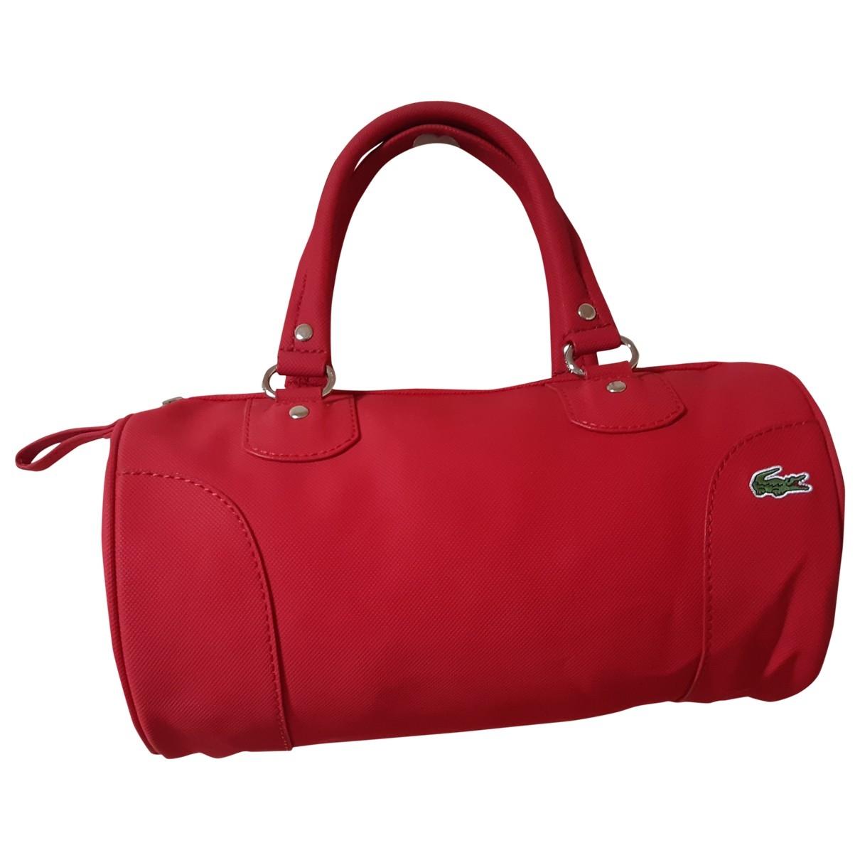 Lacoste \N Red handbag for Women \N