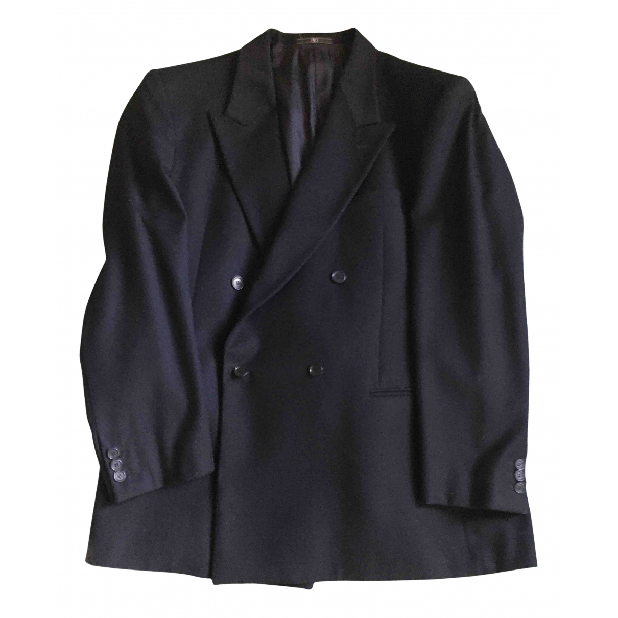 Valentino Garavani N Blue Wool jacket  for Men 54 IT