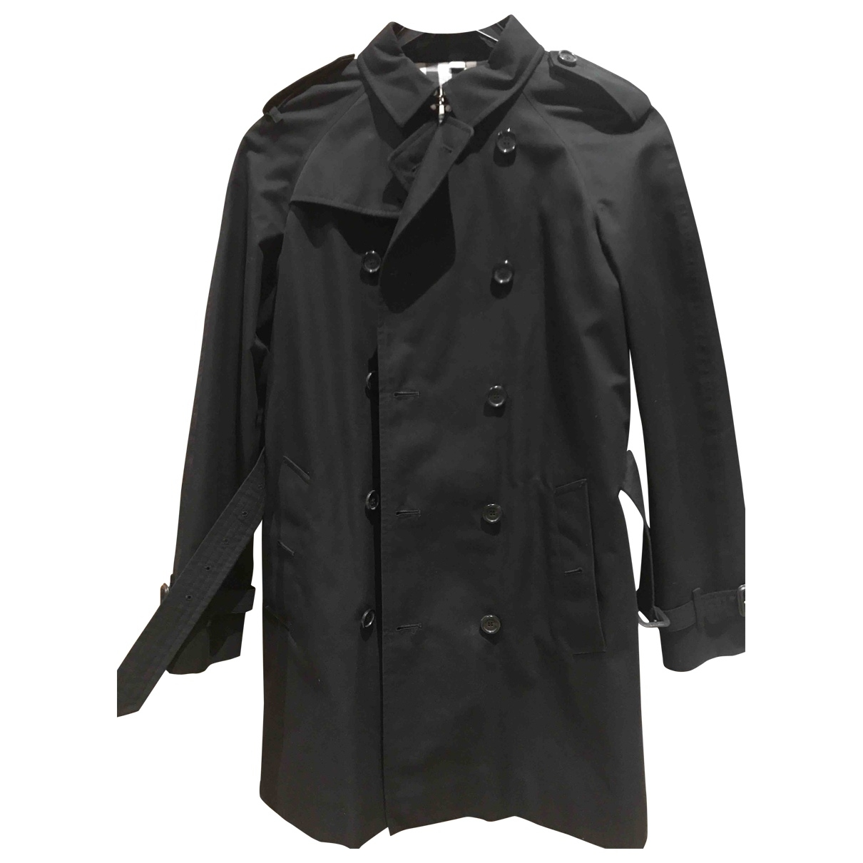 Burberry \N Black Cotton jacket & coat for Kids 14 years - S FR