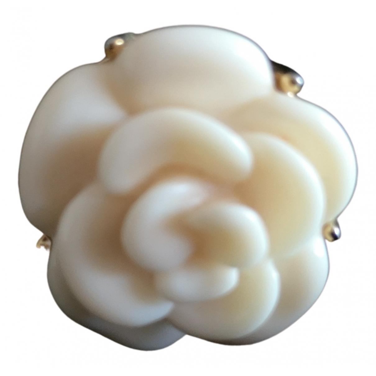 - Bague Motifs Floraux pour femme en metal - beige