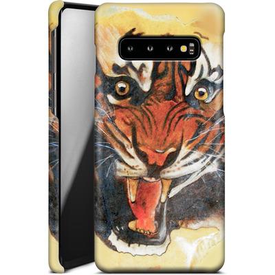 Samsung Galaxy S10 Smartphone Huelle - Tiger von Kaitlyn Parker