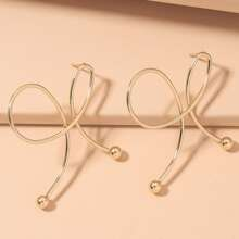 Structured Stud Earrings