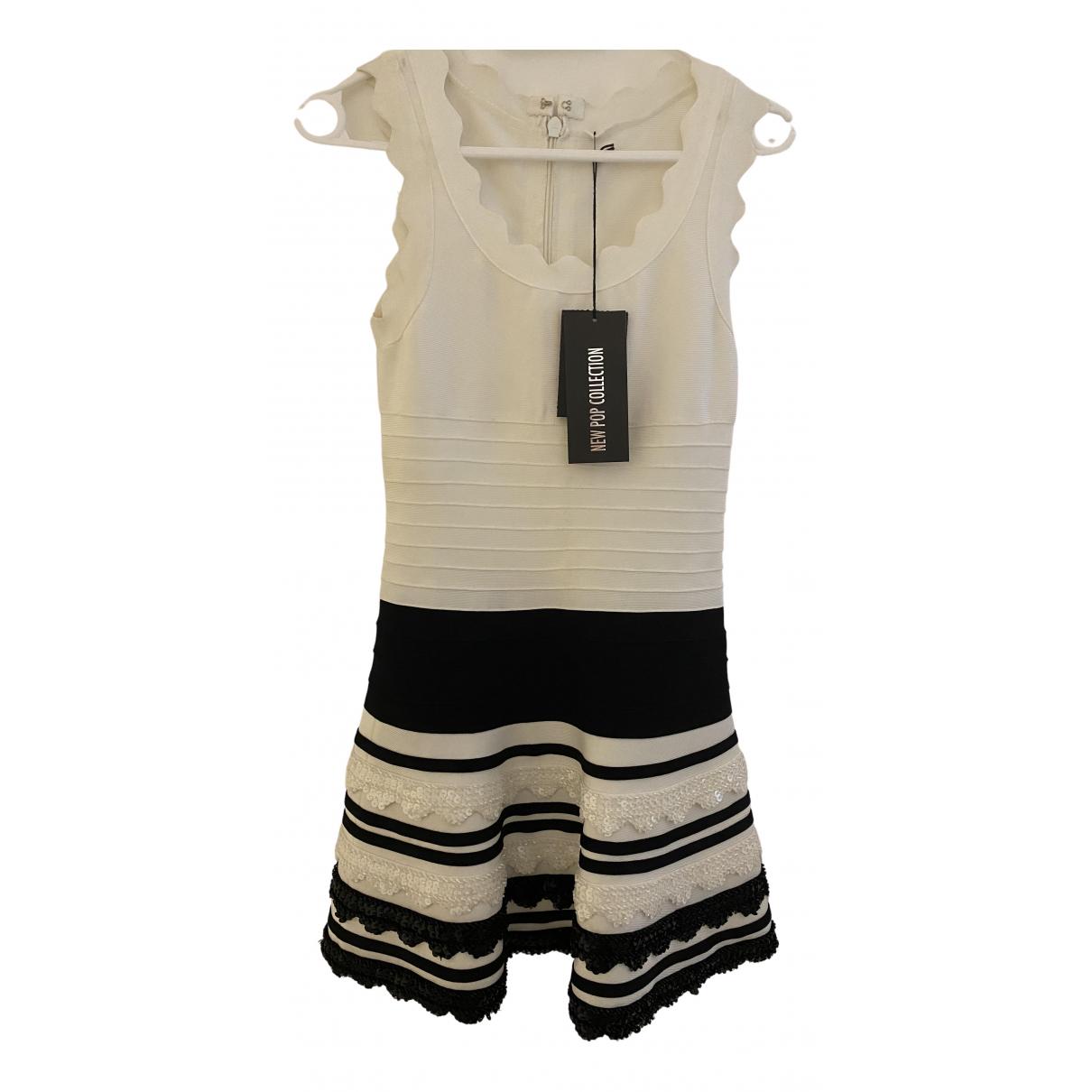 Non Signe / Unsigned \N Kleid in  Bunt Baumwolle - Elasthan