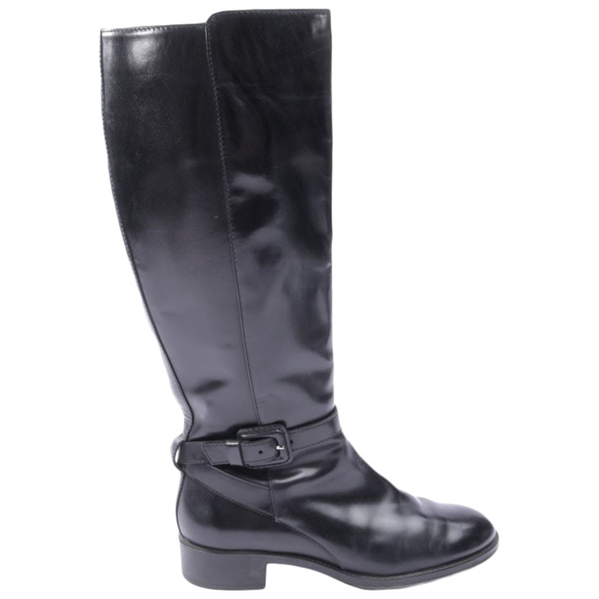 Tod's \N Black Leather Boots for Women 37 EU