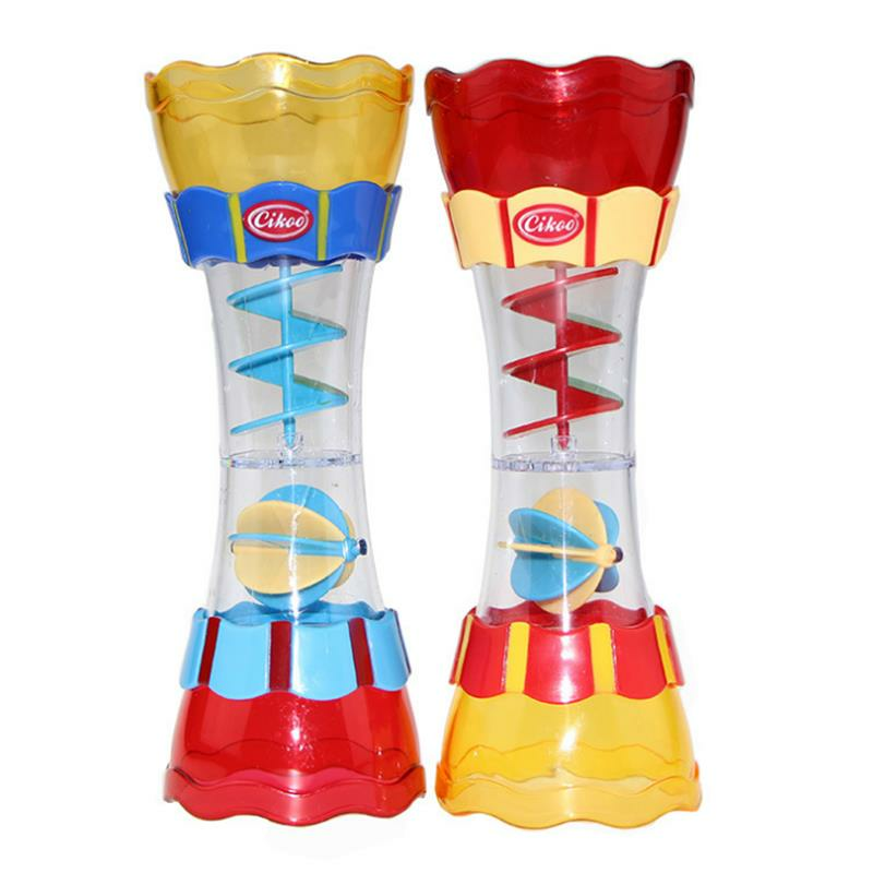 Cikoo Baby BathBeach Toys Scoop Water Swimming Beach Rotating Cylinder Flow Observation Cup
