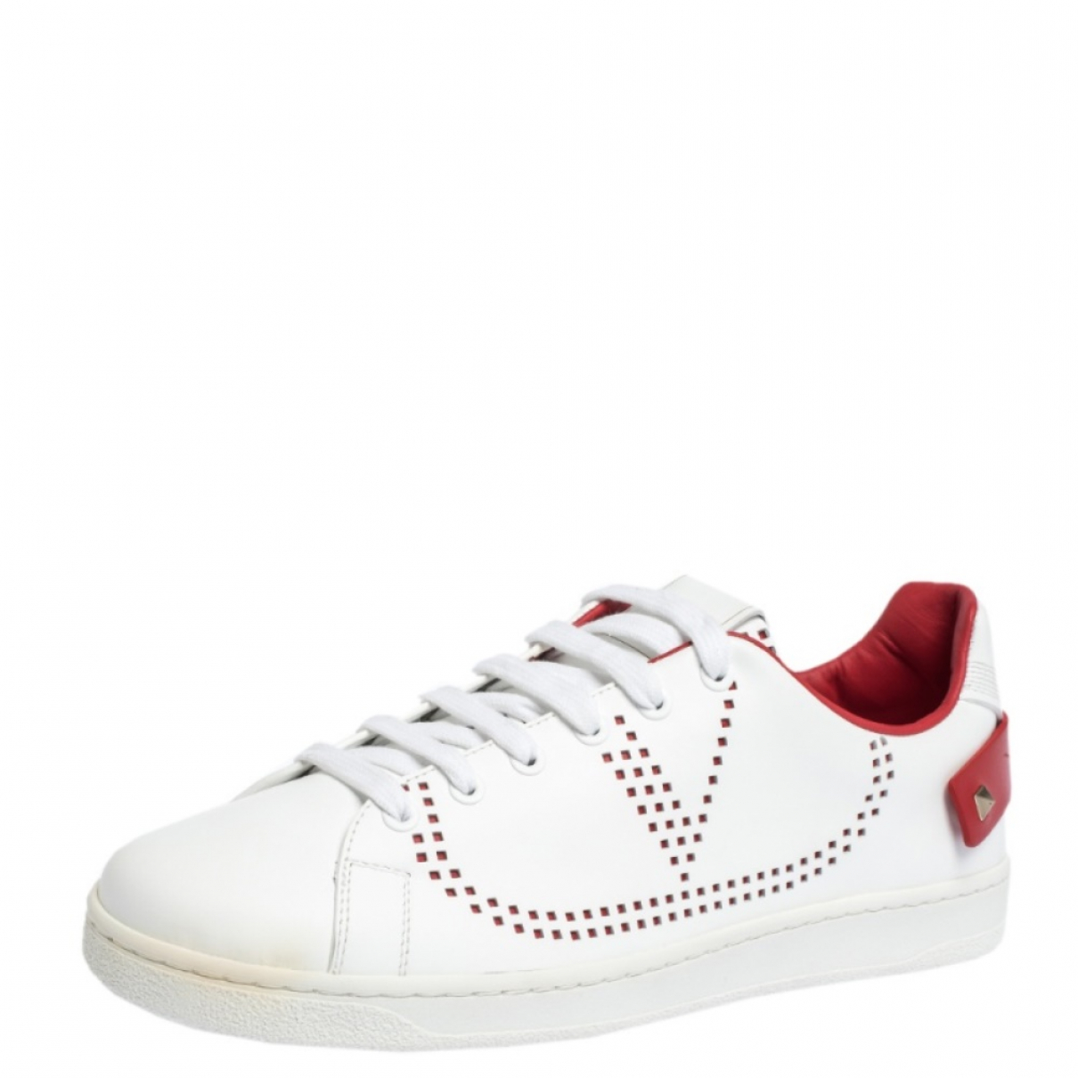 Autre Marque \N Sneakers in  Weiss Leder
