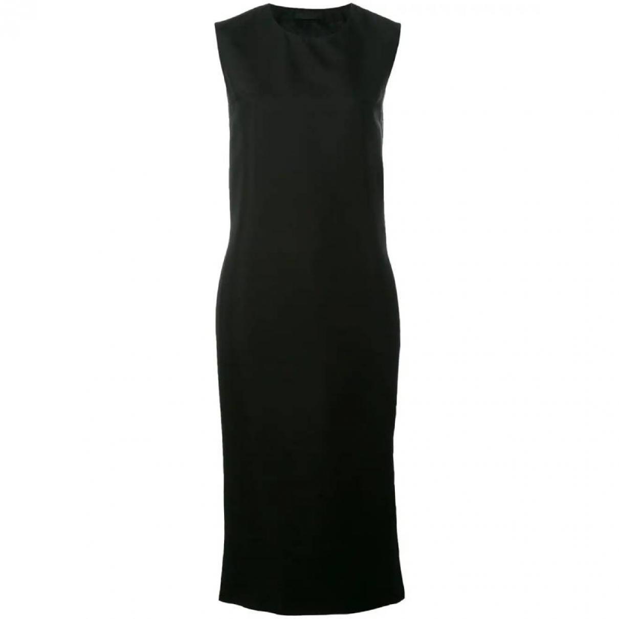 Prada \N Black Cotton dress for Women 42 IT