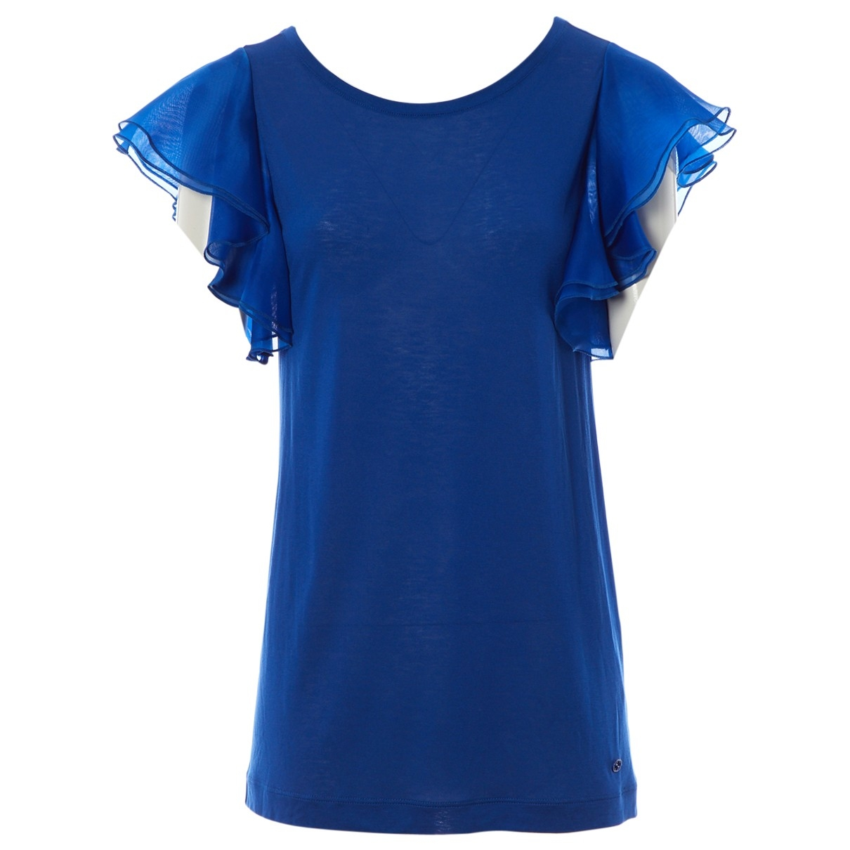 Gucci \N Top in  Blau Viskose