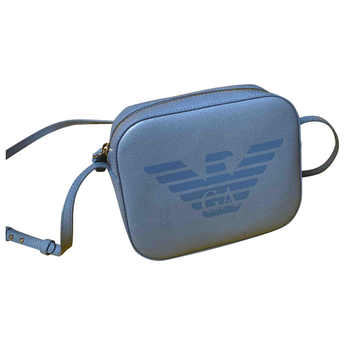 Emporio Armani \N Turquoise Leather handbag for Women \N