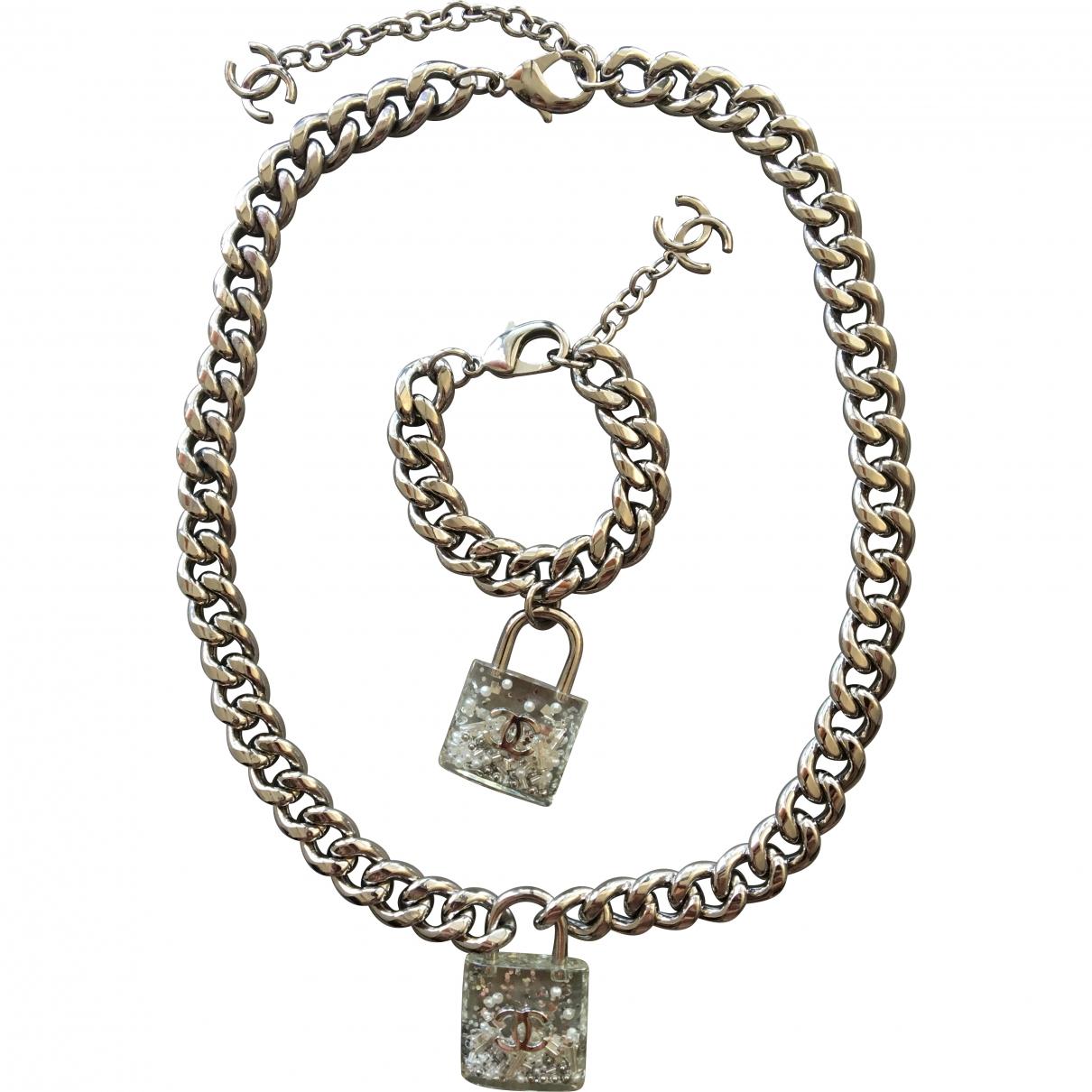 Chanel - Parure CC pour femme en metal - multicolore