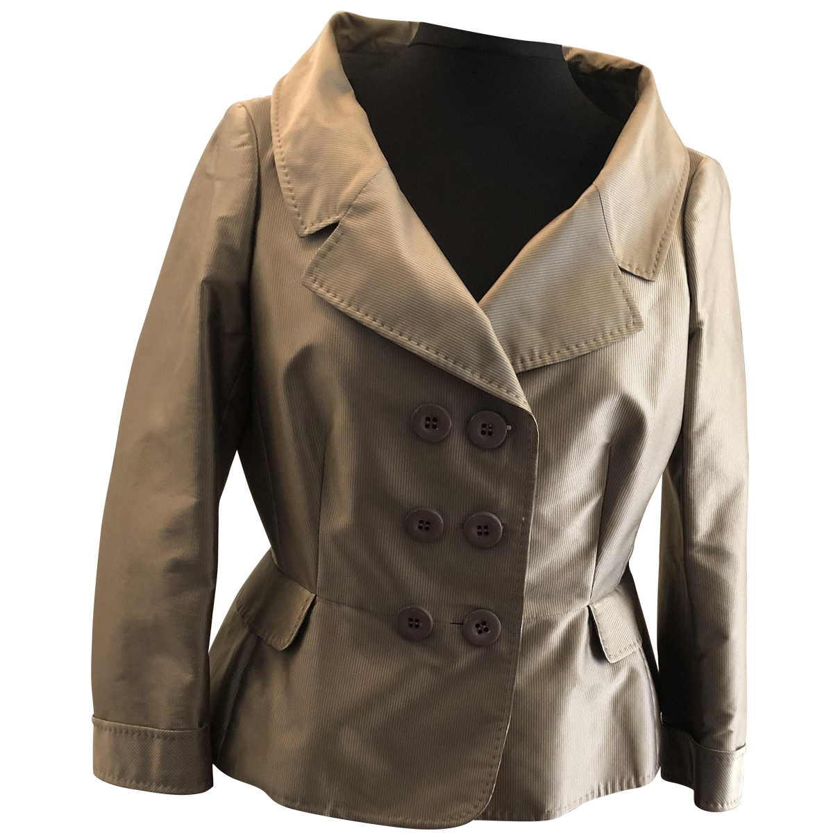 Moschino Cheap And Chic - Veste   pour femme - gris