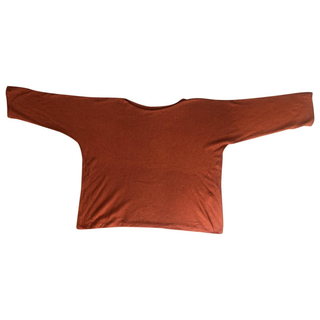 Non Signé / Unsigned \N Orange Wool Knitwear for Women S International